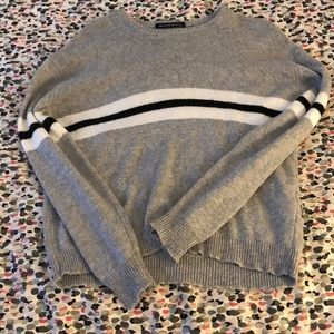 Brandy Melville sweater with stripes in the middle